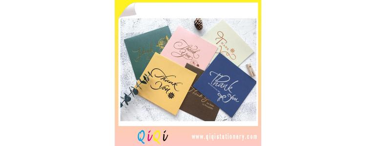 Gold stamping silver hot stamping  greeting card