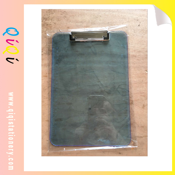 letter size plastic clipboard with ruler scale
