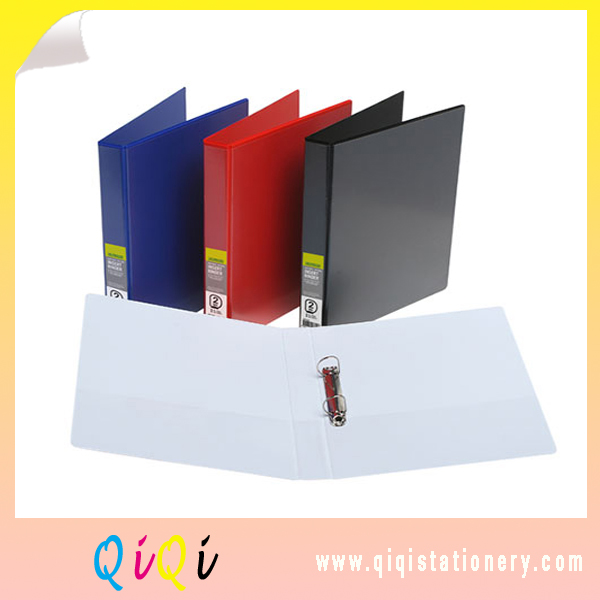 PVC A4 size 2 O Ring binder