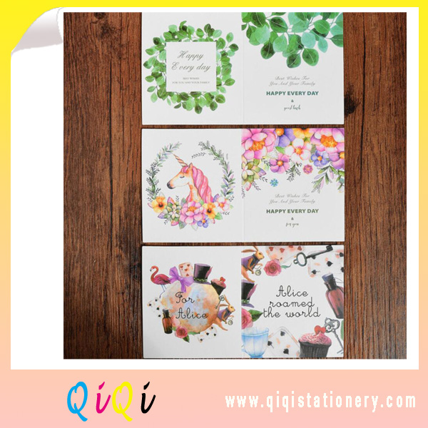 new arrival birthday card gift card thanksgiving card