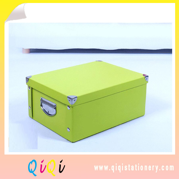 wholesale foldable storage paper box portable sorting box