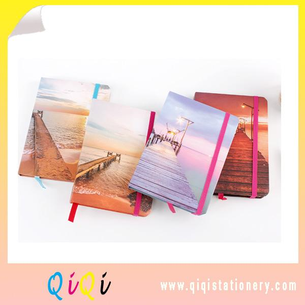 Beach series Top quality  custom office and school universal notebooks