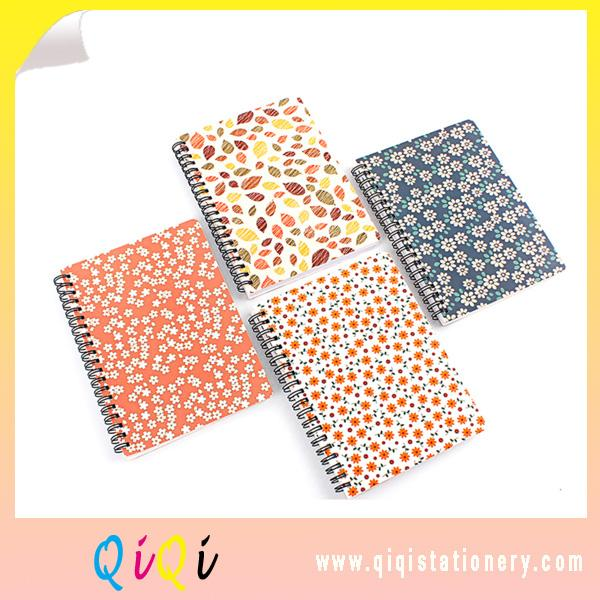 Wholesale Office Stationery Writing Plain Printed Custom Spiral Notebook