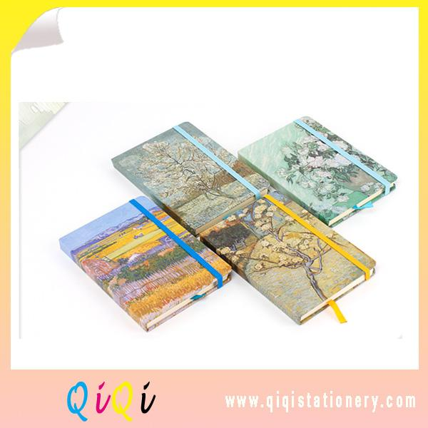 Van gogh drawing cover A5 glue binding notebook