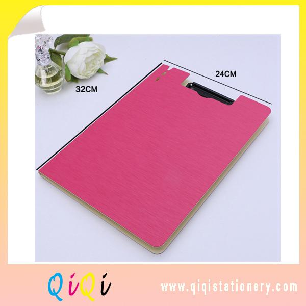 A4 PP file folder clipboard with lid