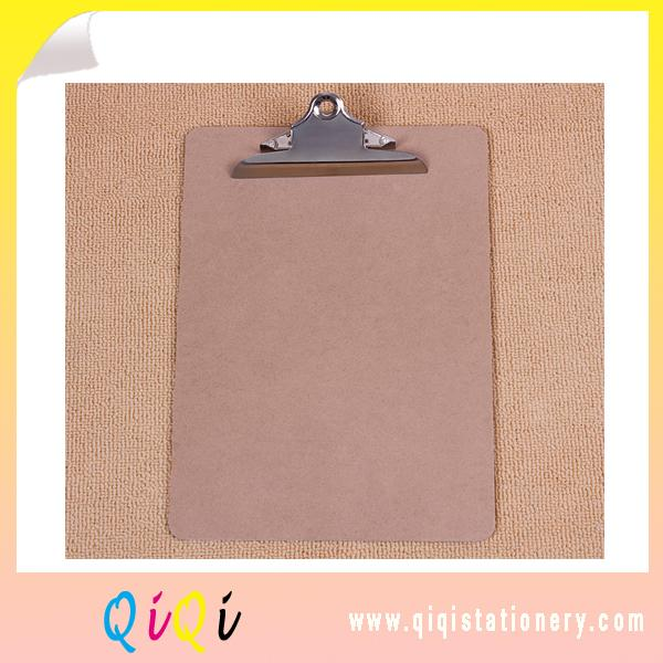A4 MDF clipboard with mountain clip holder