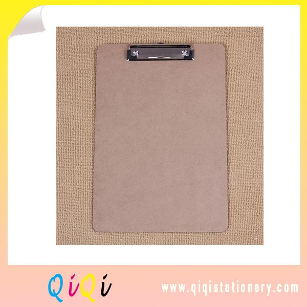 6 X 9 inch MDF clipboard with clip