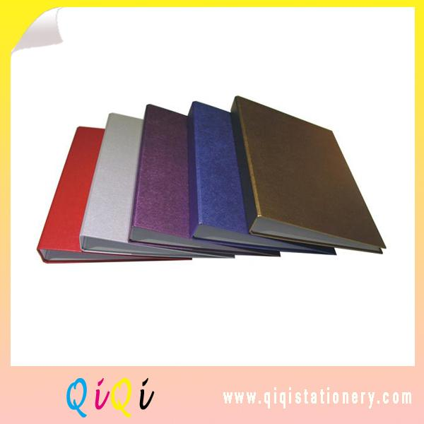 A4 pp cover 2d ring cardboard binder