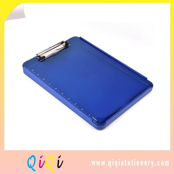 new style Plastic storage clipboard