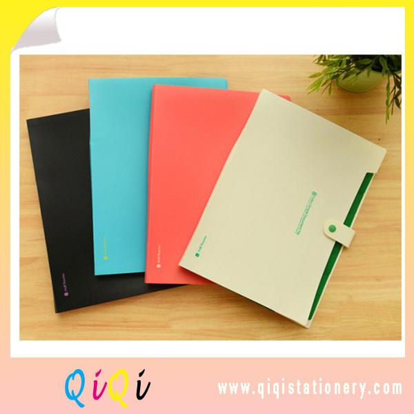 Custom PP student stationery expanding file 8 index simple document file
