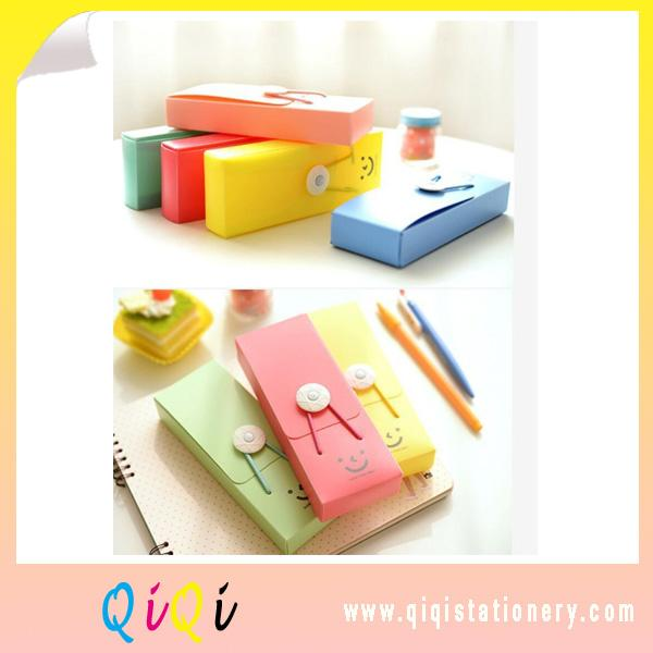 creative PVC Stationery box pencil box glass box